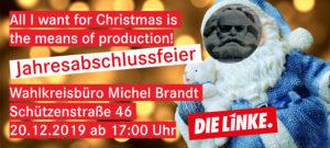 @ Wahlkreisbüro Michel Brandt / DIE LINKE
