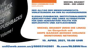"""Das """"Schwarzbuch Pushbacks"""": Menschenrechtsverletzungen an dern EU-Außengrenzen dokumentiert @ Online auf Zoom"""